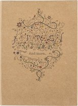 Kleurboek voor Volwassenen Planten en bloemen A5  met potloden Kleuren voor het hele gezin