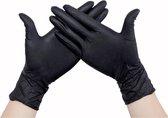 Nitril Handschoenen Xtra Strong Zwart 100 stuks L