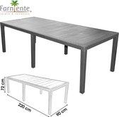 Farniente - Tuintafel Kingsize 220 x 90 x 72cm - Urban Living Eettafel