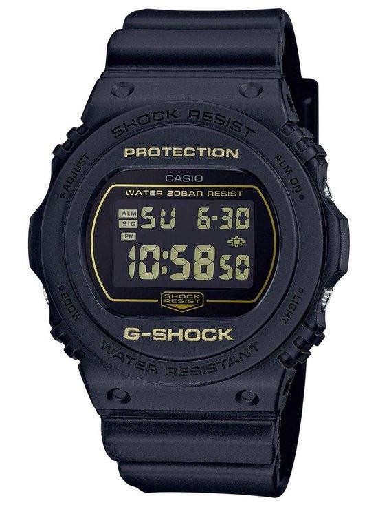 Casio – DW-5700BBM-1ER – G-Shock – horloge – Unisex – Zwart – Kunststof Ø 41 mm