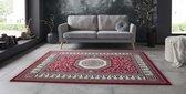 Vloerkleed retro oriental - rood 80x150 cm