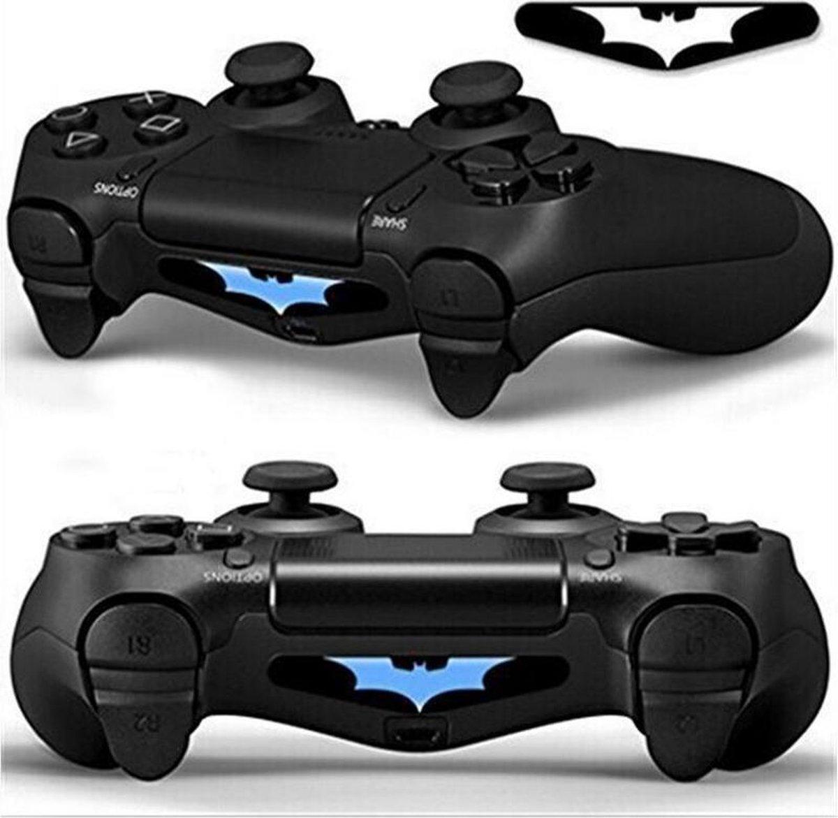 Batman - Light Bar Sticker voor Playstation 4 Controller - PS4 Controller Light Bar Skin - Vleermuis - 5 Stuks kopen