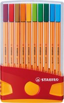 STABILO point 88 Fineliner - Etui - 20 Stuks