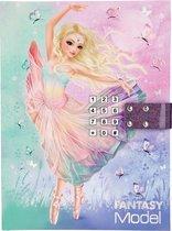 Fantasy model ballet dagboek met geheime code