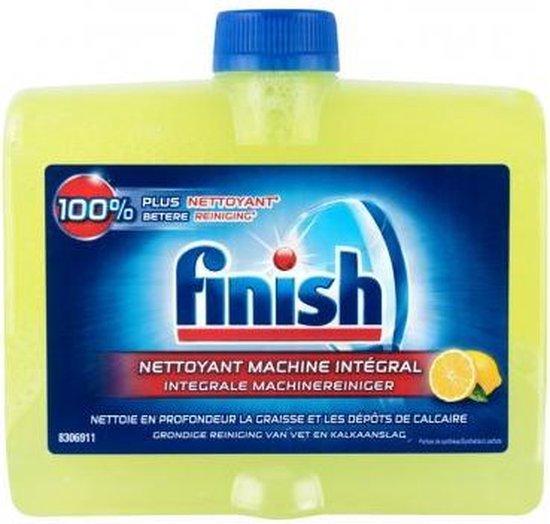 Finish Vaatwasmachinereiniger Citroen | 2 stuks | Vaatwasreiniger | 2 x 250 ml | Reinigt & Verfrist Uw Vaatwasmachine