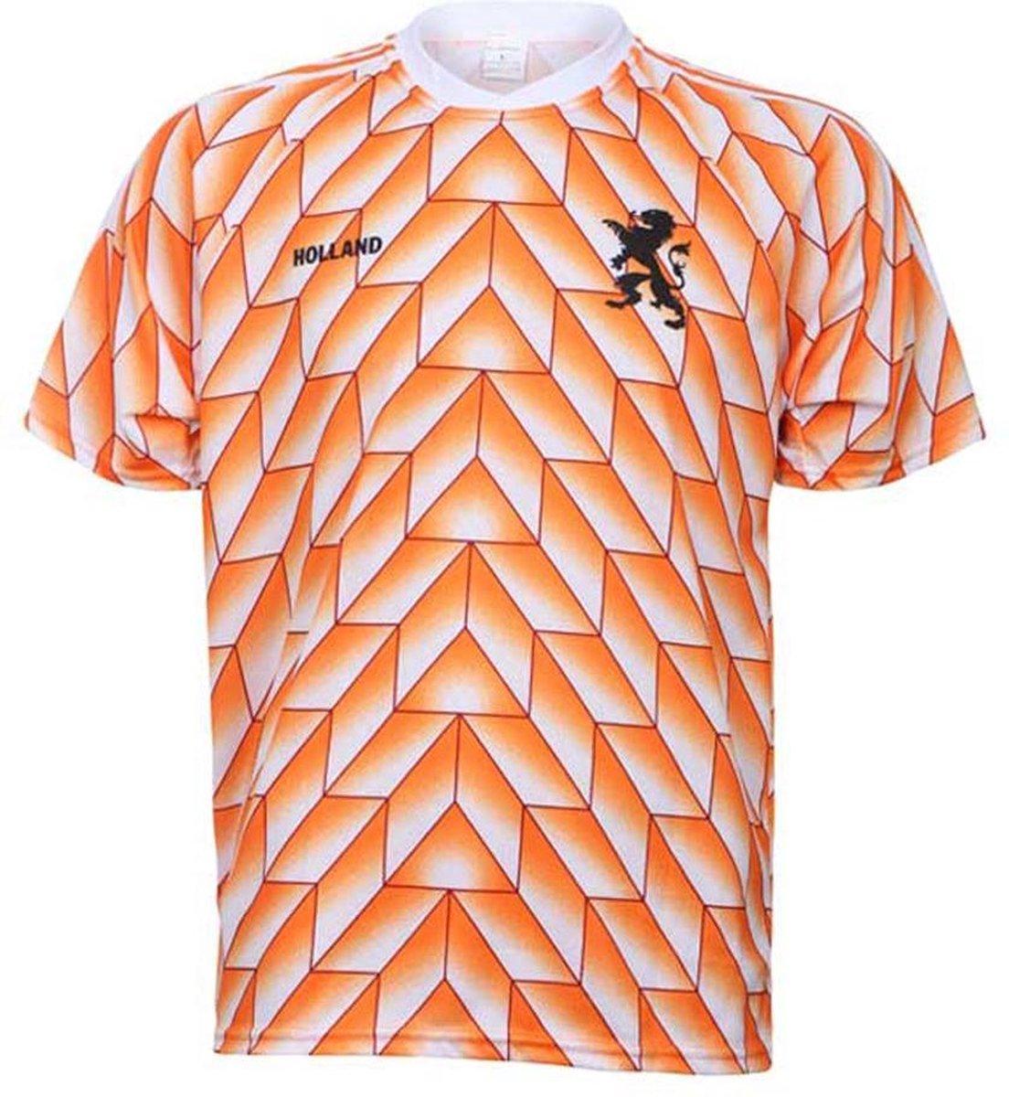 EK 88 Voetbalshirt 1988 Blanco-XL