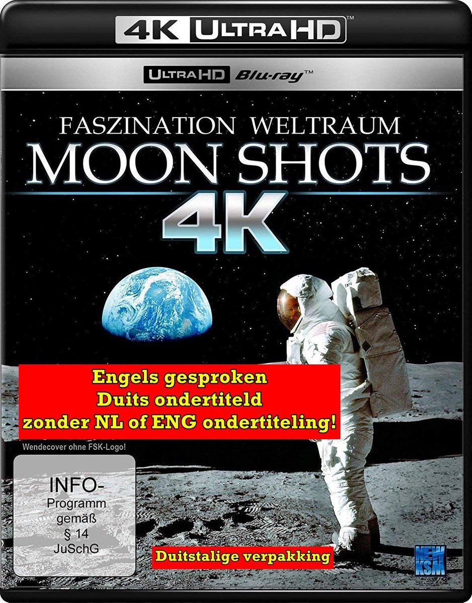 Moon Shots 4K [Blu-ray]-