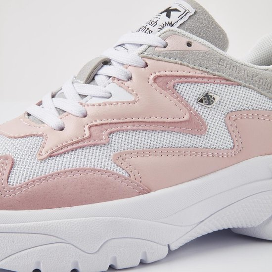 British Knights Galaxy Dames Lage Sneakers Chunky - Zacht Roze Maat 38 PS2jgS