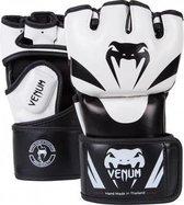 Venum Attack MMA Gloves White-S