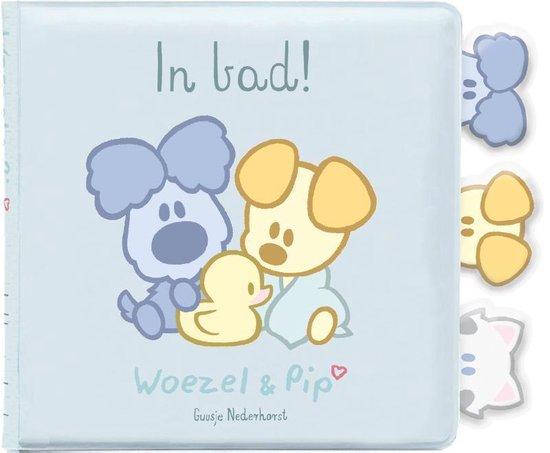 Boek cover Woezel & Pip Baby  -   In bad van Guusje Nederhorst (Onbekend)