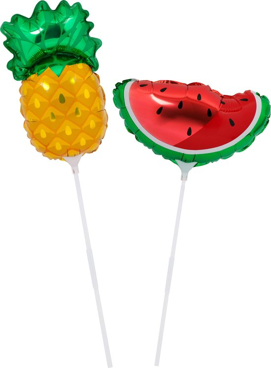 Set van 2 Foil balloon fruit salad