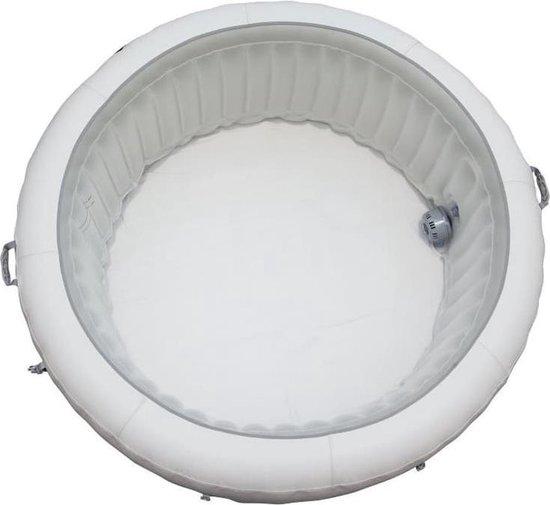Beliani PARIS - Whirlpool - Wit - PVC