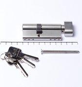 Oxloc Profielcilinder knop dubbel sl30/kn40 SKG**