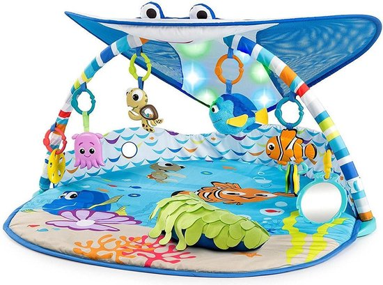Speelkleed Bright Starts - Disney Finding Nemo Mr. Ray Ocean Lights