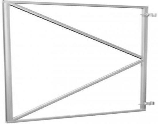 Intergard Poortframe tuinpoort vuurverzinkt 90x155cm - intergard