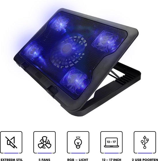 Greenure laptop koeler - cooling pad - tot 17 inch