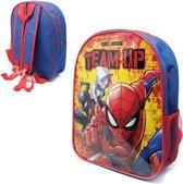 SPIDER-MAN Rugtas Rugzak School Tas 2-5 Jaar Spiderman Stoer