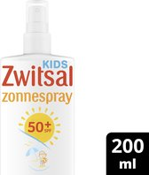 Zwitsal Kids SPF 50+ 0%parfum Zonnespray - 200 ml