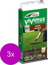 Dcm Vivimus Gazon - Onkruidbestrijding - 3 x 10 m2 40 l