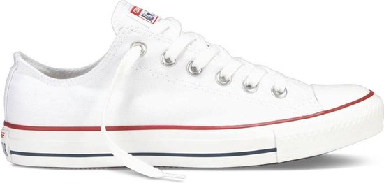 Converse Chuck Taylor All Star Sneakers Laag Unisex - Optical White - Maat 38