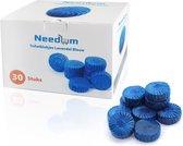 Needum ® Toiletblokjes voor inbouwreservoirs – WC-blokjes – Toiletblokken in een voordeelverpakking – 30 stuks