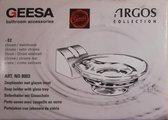 Geesa Argos Zeephouder met glazeninzet