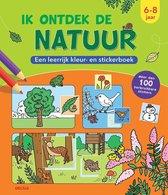 Deltas Kleur- En Stickerboek Ik Ontdek De Natuur