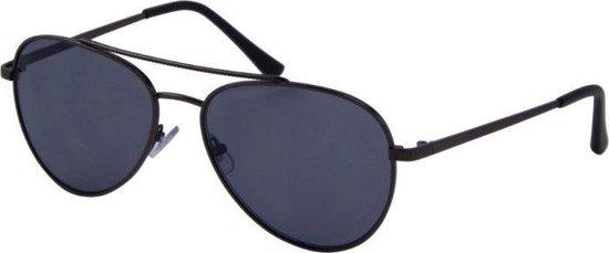 Az-eyewear Zonnebril Casual Unisex Cat. 3 Zwart/grijs (7290)