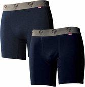 Q1905-Quick Heren Boxer 2-Pack  -  Jeans / Navy