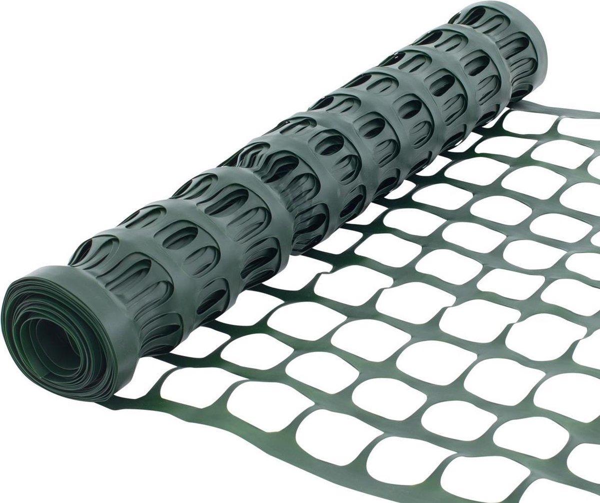 SORARA Plastic Kunststof Hek - Groen - 0,6m x 7,6m - Duurzaam