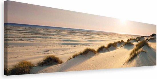 Noordzee duinen  - Schilderij 118 x 40 cm