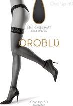 Oroblu Bas Chic Up Kousen Denier 30 - Moka - Maat S