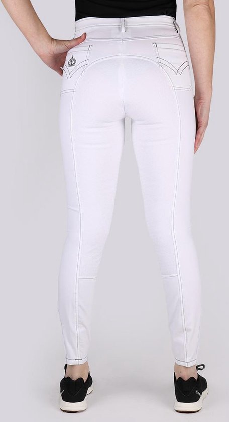 Epplejeck Rijbroek  Andria Siliconen - White - 48