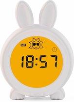 Easynights Bunny Slaaptrainer - Wit - Met Nachtlamp Functie en Wekkertimer