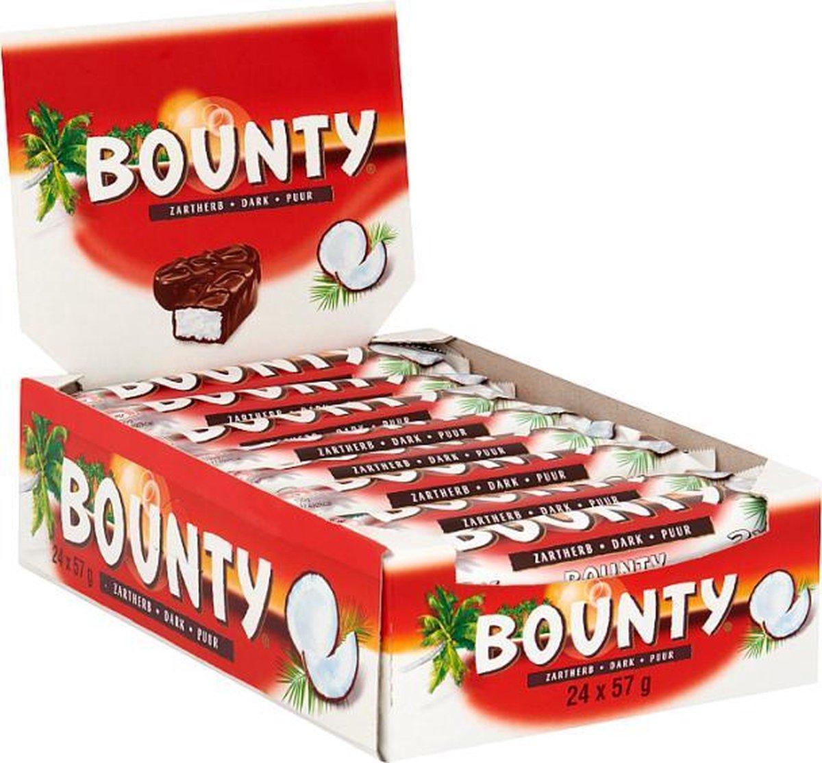 Bounty puur repen - 24 x 57g