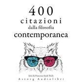 400 citazioni dalla filosofia contemporanea