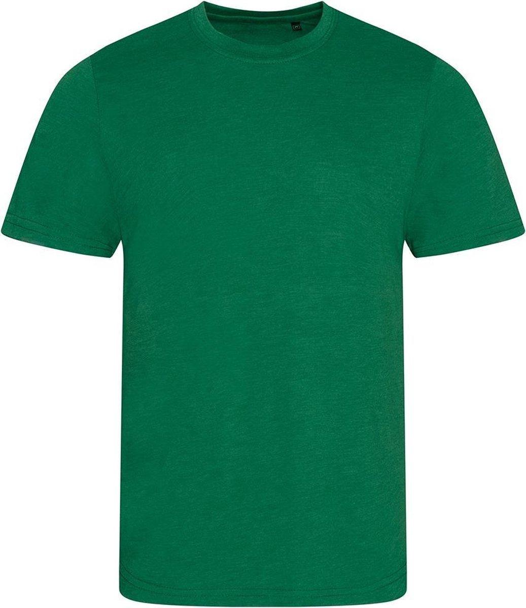 AWDis Heren Tri Blend T Shirt (Heidefles)