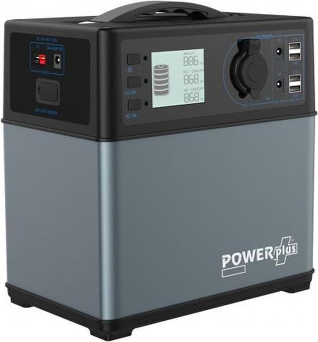 Camping Powerstation Wallaby - zonne-energie - zonnecel - laadregelaar -  powerplus - oplader - 220v