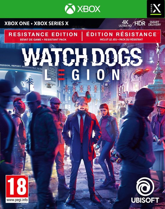 Watch Dogs: Legion Resistance Edition - Xbox One & Xbox Series X
