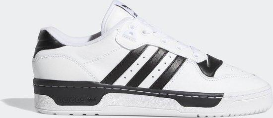 adidas Rivalry Low Heren Sneakers - Cloud White/Cloud White/Core Black - Maat 41 1/3