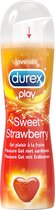 Durex Glijmiddel Play Sweet Strawberry - Aardbei - Waterbasis - 50ml