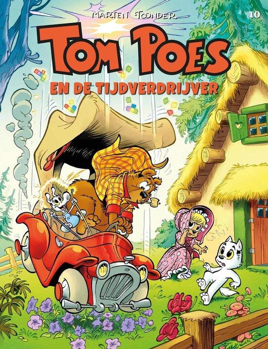 Boek cover Tom poes 10. tom poes en de tijdverdrijver van Piet Wijn (Paperback)