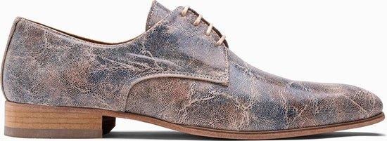 Paulo Bellini Dress Shoe Carbonia Multicolor Leather.