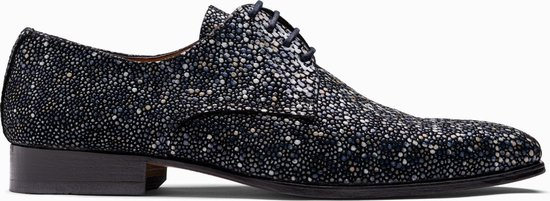 Paulo Bellini Dress Shoe Carbonia Leather Light Blue.