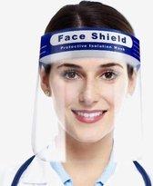 Spatmasker voor gezicht - Faceshield - Geschikt vo