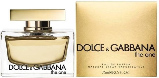 Dolce & Gabbana The One 75 ml - Eau de Parfum - Damesparfum
