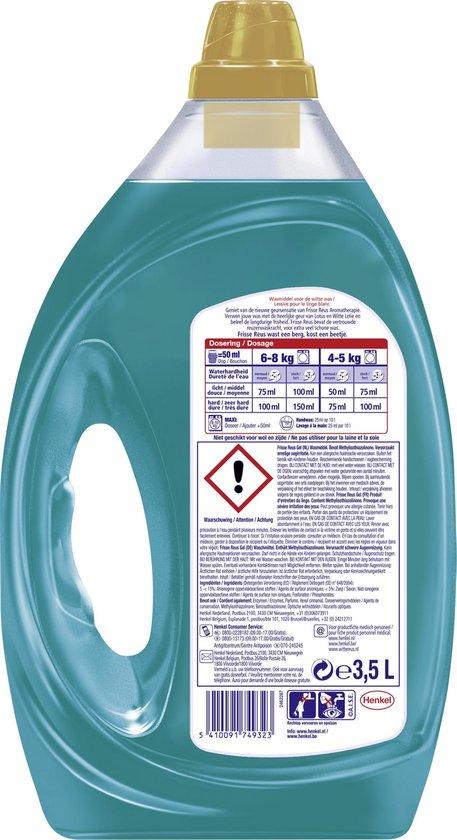 Frisse Reus Bali Gel Vloeibaar Wasmiddel - Witte Was - Voordeelverpakking - 70 wasbeurten