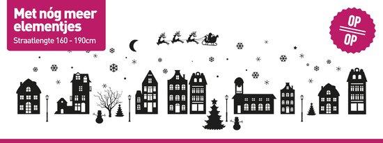 Sinterklaas Raamsticker | Sinterklaas Sticker | Sint & Kerst Sticker | Kerst Sticker | Herbruikbaar Statisch