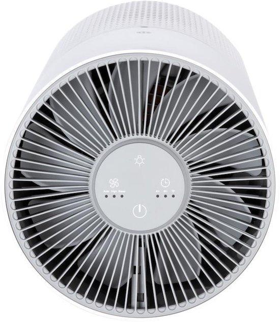 Tubble® Air Purifier Compact, Luchtreiniger, TRUE HEPA 360° filter technology, CADR 130, met fluisterstille slaapstand