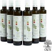Olijfolie Manolakis Premium Extra Vierge 6 x 500 ml (glas) van Kreta